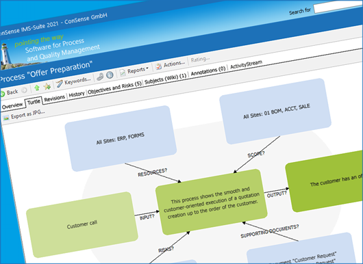 ConSense Software Screenshot Processes and Consistency Checks